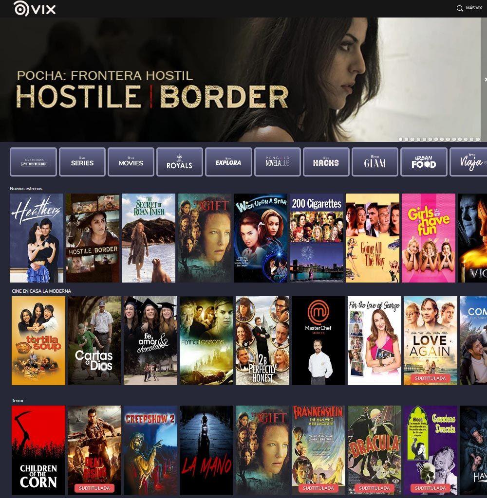 Vix TV Www.SpacioVirtual.Net - Televisión y Películas (GRATIS)