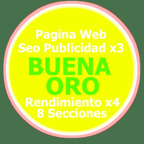 Pagina Web Oro